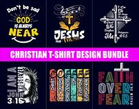 Best Christian T-Shirt Design Bundle