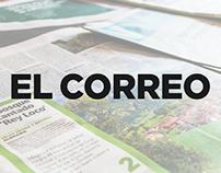 Design Editorial - Estágio no Jornal El Correo