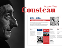 Jacques-Yves Cousteau Website