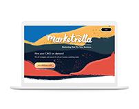 Marktrella Landing Page & Logo Design