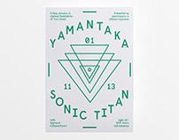 Yamantaka // Sonic Titan - Poster