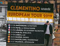 CLEMENTINO - TARANTELLE EUROPEAN TOUR (2019)