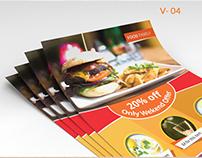 Fast Food Flyer V.04