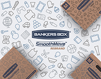 Banker's Box® SmoothMove™ ReBrand: Item Iconography