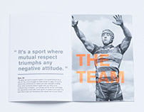 For the love of - sport advertising campaign