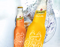 schweppes - Label Concept