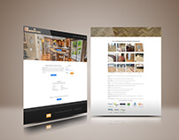 Web design for flooring company