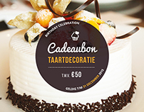 Cake Giftvoucher