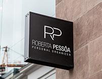 Branding project for (branding para) Roberta Pessôa.