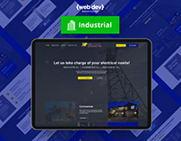 MP Electric Website Redesign by {web Lakeland}