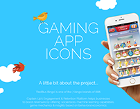 Gaming App Icons