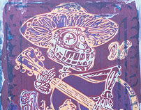 Day of the Dead Illustration Transfers