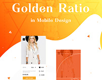 Golden Ratio in UI design ' 2016
