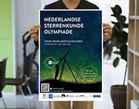 STERRENKUNDE OLYMPIADE 2019 Poster Design