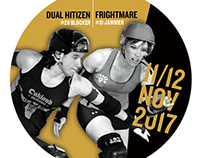 Roller Derby Promo Sticker
