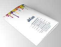 Swiss Paint Brochure Design