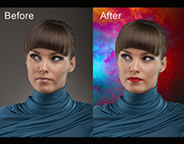 Photoshop editing / photo retouch / remove background