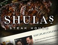 Shula's Steakhouse Naples Website Design and Dev