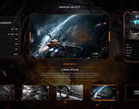 Game menu redesign