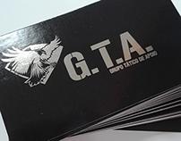 Cartão de Visita Metalizado