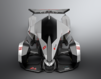 "Audi R24 ray-tron ""Project Gaian"""