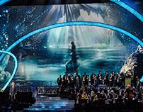 Stage design. Юбилейный концерт Игоря Крутого в Кремле