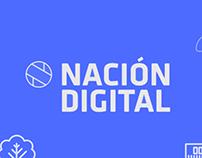 Nación Digital-ilustración y animación
