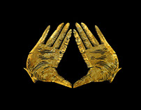 Illuminati Gold Hands