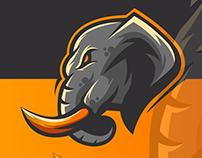 Elephant logo E-Sport Art