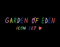 Garden of Eden / icon set