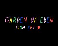 Garden of Eden / icon set