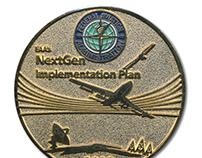 FAA NextGen Challenge Coin