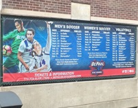 DePaul Fall Sports Game Schedules Fullerton Banner