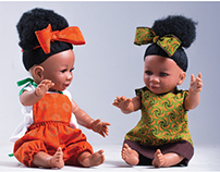 Paula-Jean Collection South African baby dolls