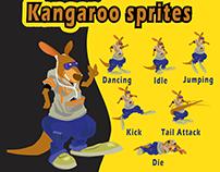 Kangaroo Sprites