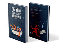Fizyka dla ludzi w wannie- illustration and book design