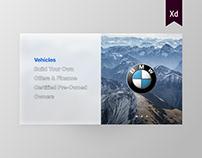 Redesign BMW.com