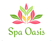 Spa Oasis Logo Template