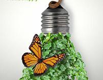 poster voor groene energie.