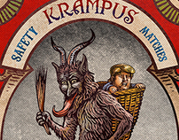Krampus Matches Special Edition