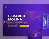 Gerardo Molina. Graphic designer / Web. resume.