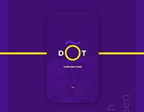 DOT | Mobile App UI Design