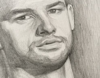 Grigor Dimitrov-pencil portrait