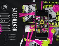 Neo Aesthetic Social Media Pack