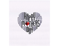 HIGHLY ARTISTIC MOTHERS DAY EMBROIDERY DESIGN