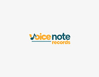 Brand Identity - Voice Note Records