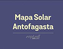 MAPDWELL / Mapa Solar Antofagasta