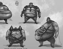 Fat heroes