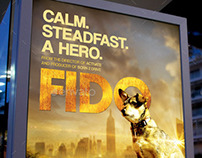 Fido Movie Poster Template