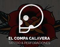 El Compa Calavera | tattoo y perforaciones - Mail